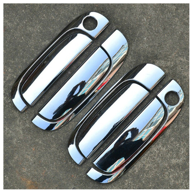 Aliexpress com : Buy Accessories Car Decoration Modification Accessories  Car styling Car covers For KIA RIO 2005 2011 Door Handle Cover Exterior  from