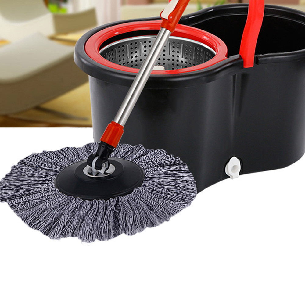 360° Rotating Easy Magic Microfiber Super Cleaning Replacement Mop Head Home