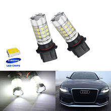 ANGRONG 2X P13W PSX26W 30W SAMSUNG LED Bulb Sidelight Daytime Running Light For AUDI A4 B8
