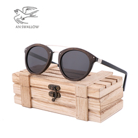 Green bamboo wood polarized sunglasses for men and women UV protection new sunglasses travel riding essential