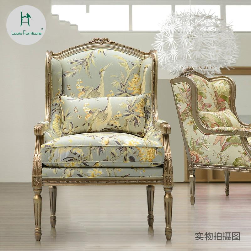 Living Room Furniture St Louis: Aliexpress.com : Buy Louis Fashion Single Sofa Tiger Chair