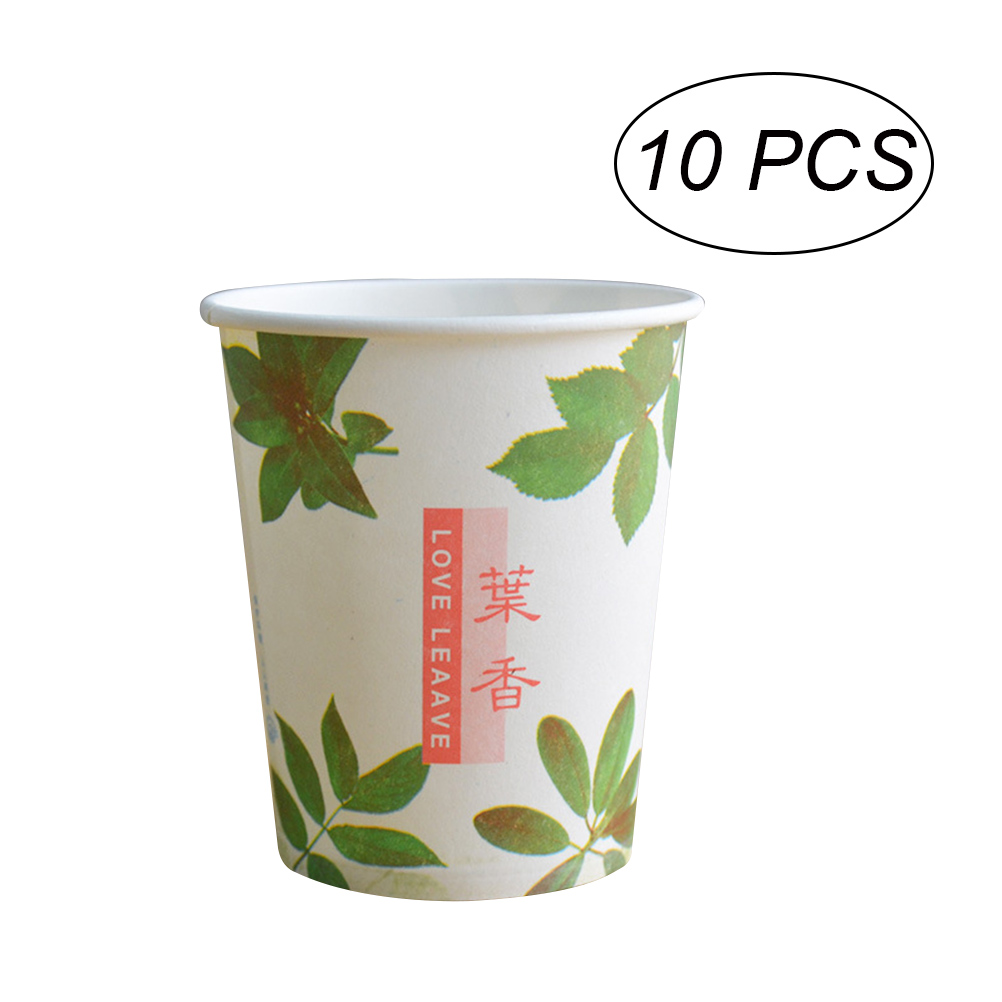 10 Pcs Disposable Paper Cup Insulated Drinking Cup Hot Paper Cup to Coffee Espresso Tea Chocolate Кубок