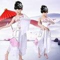 Los niños Llevan Trajes de Danza Clásica Ropa Niñas Paraguas Danza de los Abanicos de Baile Yangko Ropa Moderna Traje de la Danza Nacional 18