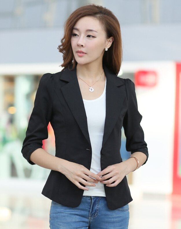 Aliexpress.com : Buy summer suit jacket women short female blazers ...