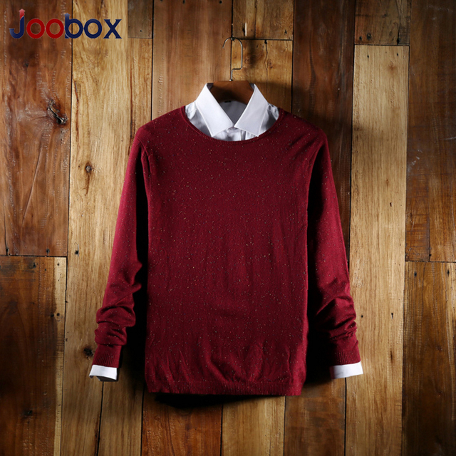 Men's sweaters 2017 New Brand Men Wool Sweater Autumn Winter O-neck Kintwear Pullover High Quality sweater men brand (MYJ05)