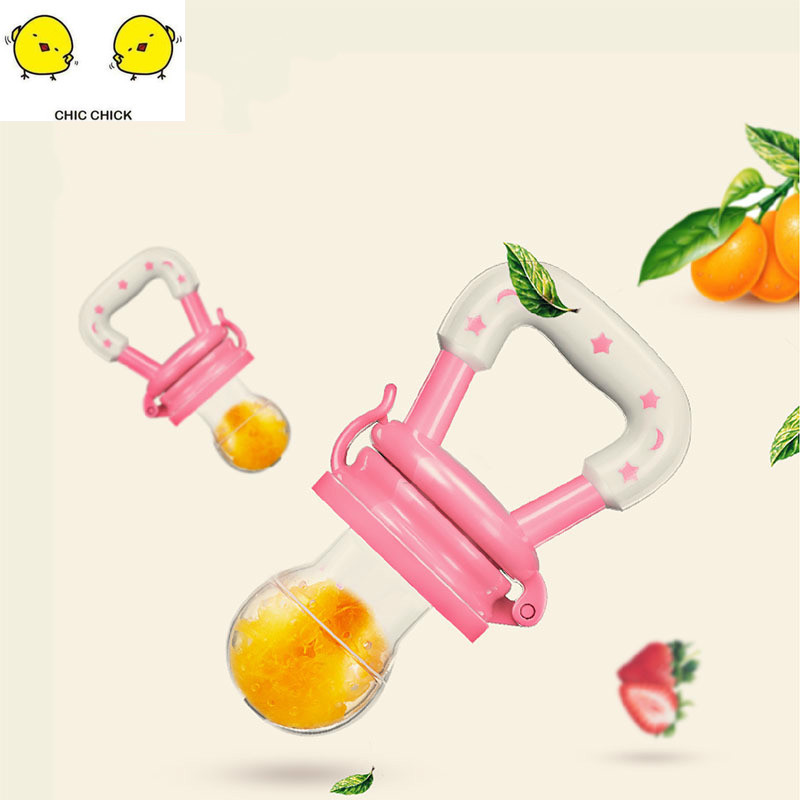 Baby Pacifier Fruit Vegetables Meat Feeder  Baby Pacifier Silicone  Baby Products Drop Shipping
