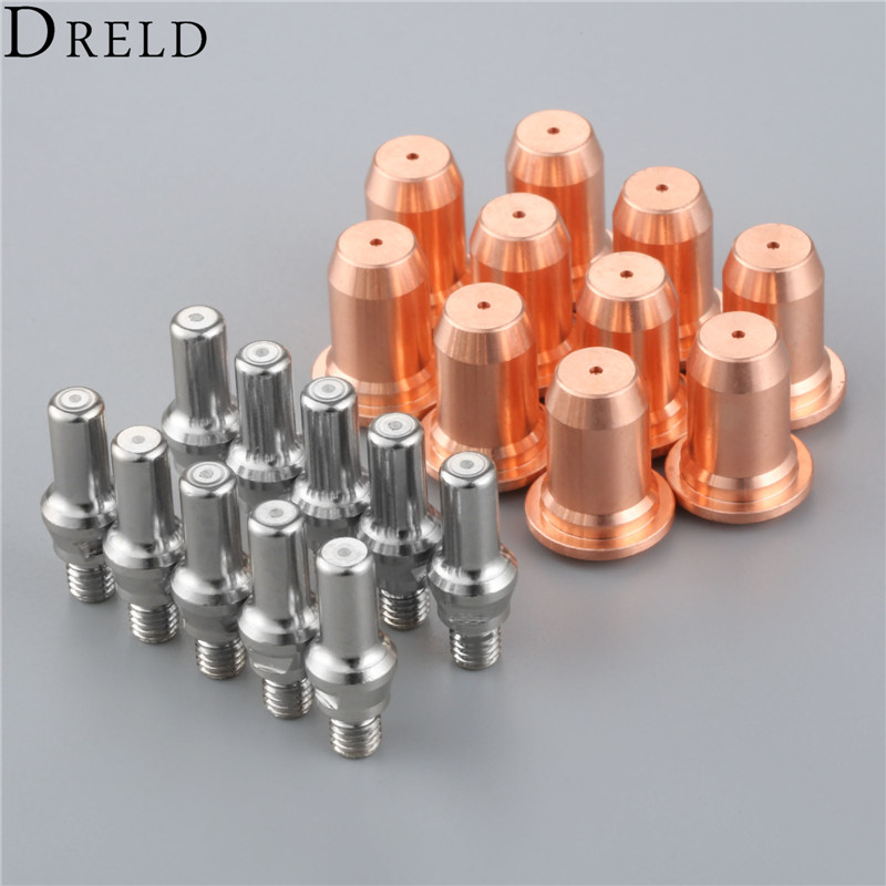 Consumable For Cutting Parts Plasma 52582 PT60 Set Replacement DRELD Nozzles Torch 51313 IPT 20pcs Electrodes 60 Consumable