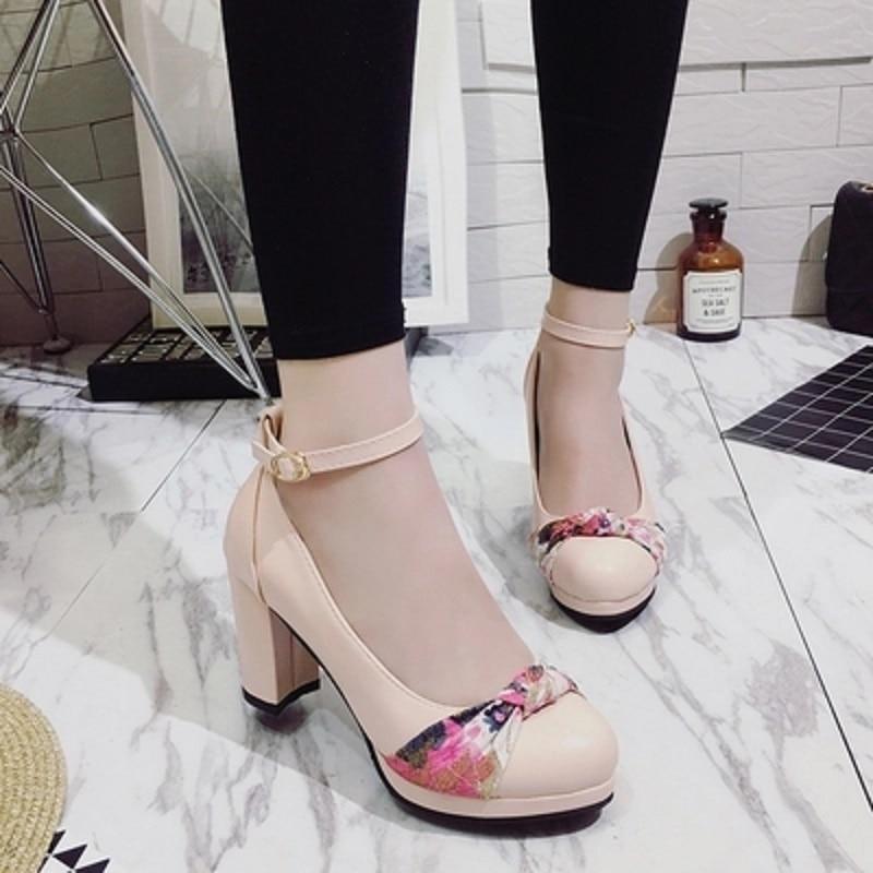 2 De 1 Color 5 Rosa Blancos Beige Azul Boda Tacones 3 Plataforma Nuevos Zapatos 4 Mujer Altos 2018 4EHqx6Bw