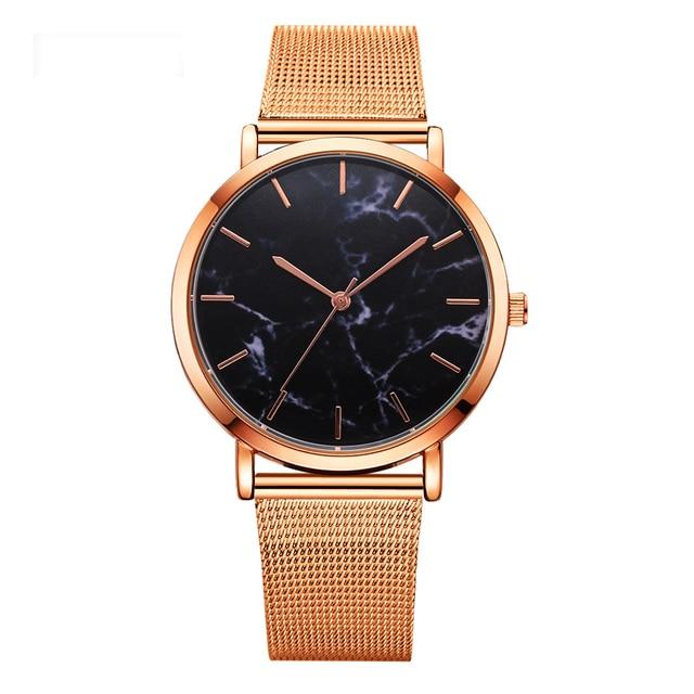 Dropshipping 2018 Lvpai Brand Luxury Women Gold Mesh Watch Fashion Bracelet Dress Watch Quartz Wristwatch Ladies Casual Watch