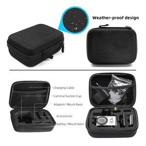 Image 4 - Gopro اكسسوارات صغيرة الحجم إيفا جمع حقيبة حقيبة صندوق تخزين forGopro Hero7/6/5/4/3 + SJCAM SJ4000 XIOMI يي 4K عمل الكاميرا