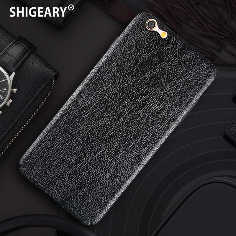 Shigeary Cover for iPhone 6 S Plus Case for iPhone 6 6S Cover Luxury Leather + PC Cases for Apple iPhone 6S Plus Cap Fundas Hull ...