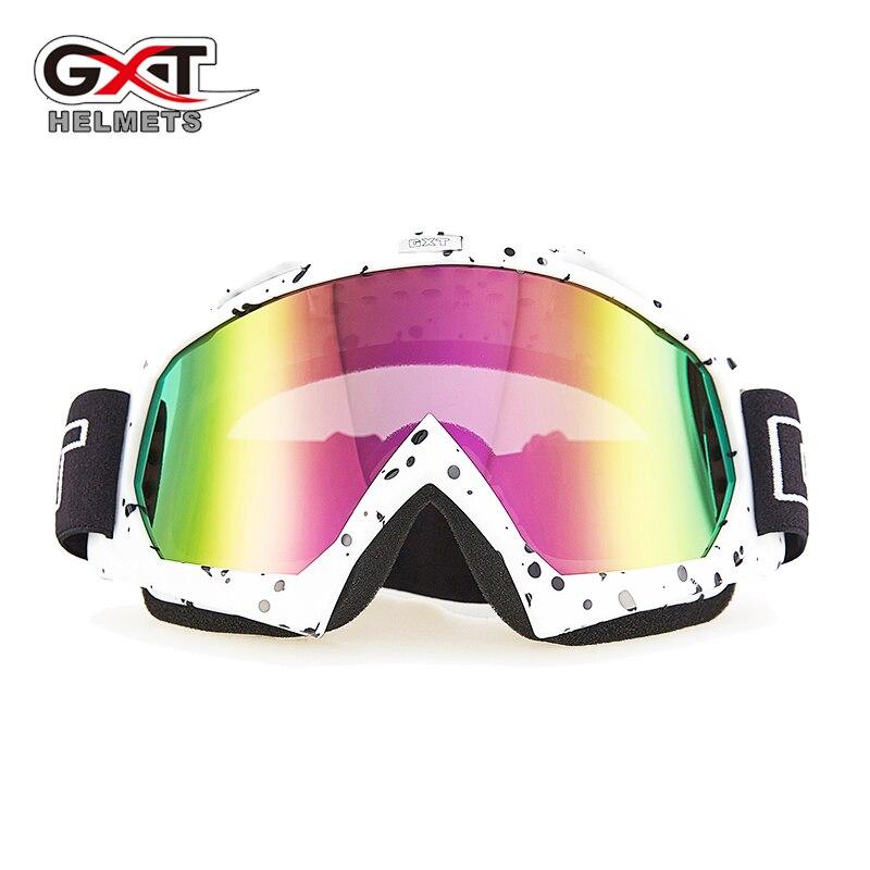 GXT Motorcycle Glasses ATV MTB Dirt bike Motocross Goggles Motorcycle Enduro Off-Road Windproof Glasses skiing Skating Goggles