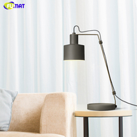 FUMAT Nordic Table Lamps Creative Metal Brief Table Lights For Living Room Bed Room Bedside Reading Lights Office Dorm Lights
