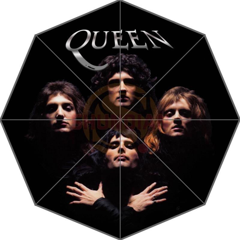 4a2f6f77da994 Hot Sale Custom Queen Band Best Nice Adults Universal Design Fashion  Foldable Umbrella Good Gift Idea