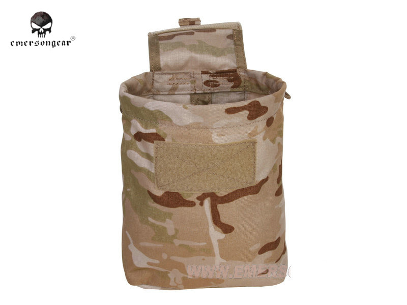 New EMERSON Large Capacity Waist Molle Military Tactical Airsoft Paintball Hunting Folding Mag Recovery Dump Pouch MC CB MCBK $ emerson tatical waist bag 1000d nylon molle hunting pouch camo camo waterproof durable army multifunction waist pack pouch
