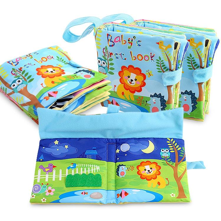 Baby Cloth Book Oyuncak Educational Baby Toys 0-12 Months Brinquedos Para Bebe Baby Quiet Book Soft