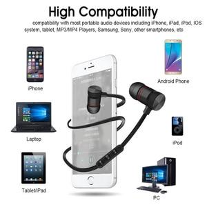 Image 3 - DUSZAKE L16 מגנטי אלחוטי Bluetooth אוזניות עבור טלפון בס אוזניות אלחוטי Bluetooth אוזניות לxiaomi טלפון ריצה