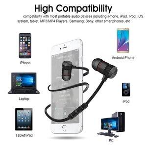 Image 3 - DUSZAKE L16 Magnetische Draadloze Bluetooth Oortelefoon Voor Telefoon Bass Hoofdtelefoon Draadloze Bluetooth Oortelefoon Voor Xiaomi Telefoon Running