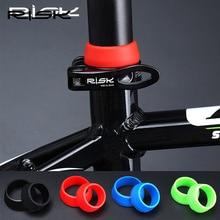 RISK 1 пара седло для горного и дорожного велосипеда резиновое кольцо пылезащитный чехол велосипедная Силиконовая Водонепроницаемая прокладка для велосипедного подседельного штыря
