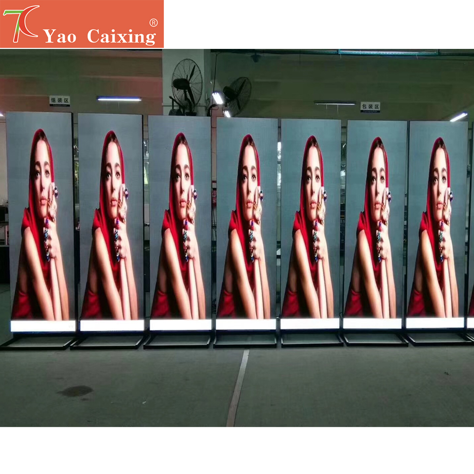 P3 RGB Indoor Smd Dot Matrix Customized Led Poster Display Advertising Machine Screen