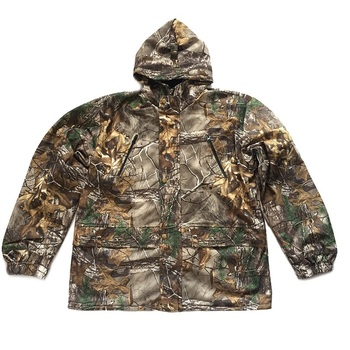 Men's Outdoor Bionic Winter Camouflage Clothes Hunting Clothing Winter Hunting Suits with Fleece Ghillie Suit 2