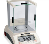 Huazhi HZK 210g / 0.0001g Lab Analytical Digital Balance Scale Jewellery Electronics said ,with LCD display weight sensor
