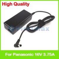 AC laptop carregador de alimentação do adaptador 16 V 3.75A para Panasonic CF-M32 CF-M33 CF-M34 CF-S21 CF-S22 CF-S51 CF-V21 CF-V25 CF-V41 CF-V45
