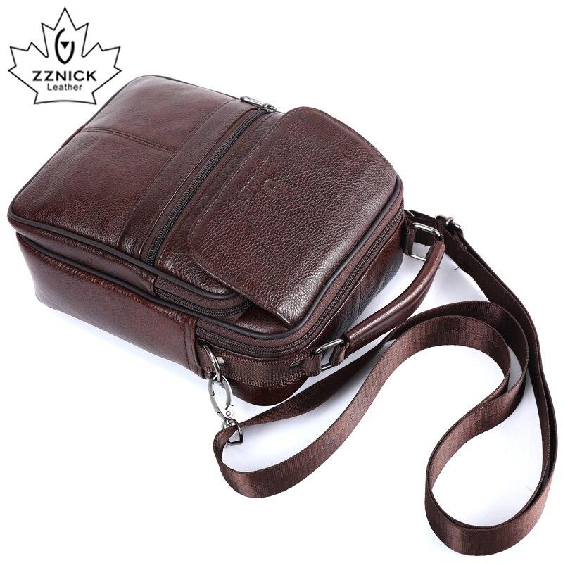 ZZNICK 2017  New Arrival Genuine Leather Bags For Men Shoulder Bag Men/'s Bag