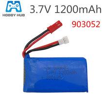 Bateria de 3.7v 1200 mah lipo para syma x5sw x5sc m18 h5p h11d h11c h11wh helicóptero zangão parte 3.7v 1200 mah lipo bateria