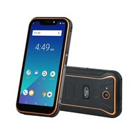 "Guophone Waterproof Rugged Outdoor Smartphone Android 8.1 5.5"" U Notch Screen Quad Core 2+16GB 3G 4G LTE 5000mah Mobile Phone