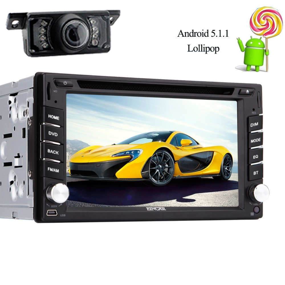 2 din Android 5 1 dvd font b GPS b font Navigator Autoradio 1024 600 double