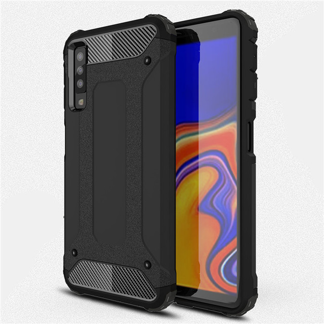 finest selection 8c2fc e3c2d US $2.89 20% OFF For Samsung Galaxy A7 2018 case Armor Hybrid Shockproof  Hard PC TPU Phone cases for Galaxy A 7 A7 2018 SM A750F A750F A750 Cover-in  ...