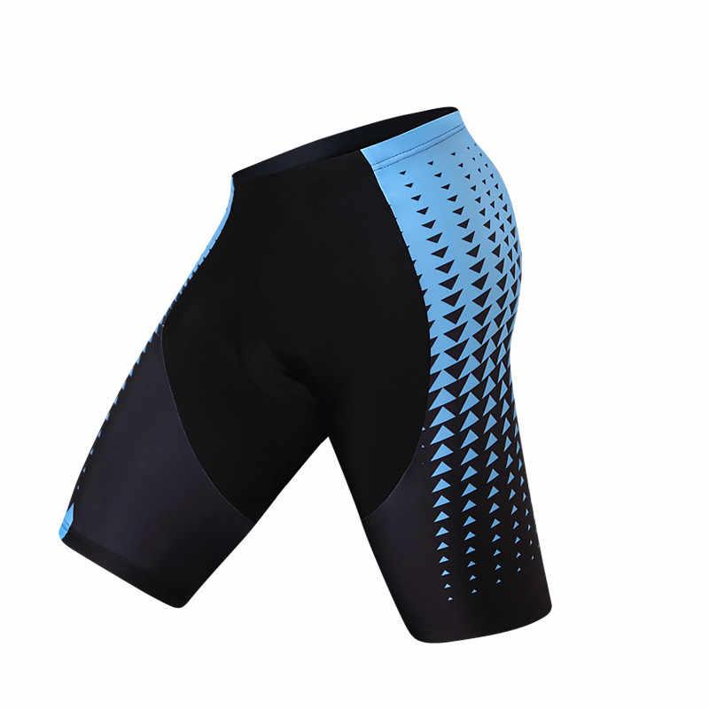Teleyi Coolmax 3D Gel acolchado ciclismo pantalones cortos hombres mujeres 2019 Pro equipo Downhill bicicleta pantalones cortos carreras deporte MTB bicicleta de carretera pantalones cortos