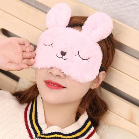 Fashion Sweet Pink 3D Cat Sleep Mask Natural Sleeping Eye Mask Eyeshade Cover Patch Travel Blindfold Ice Bag Hot&Cold Eye Mask Islamabad