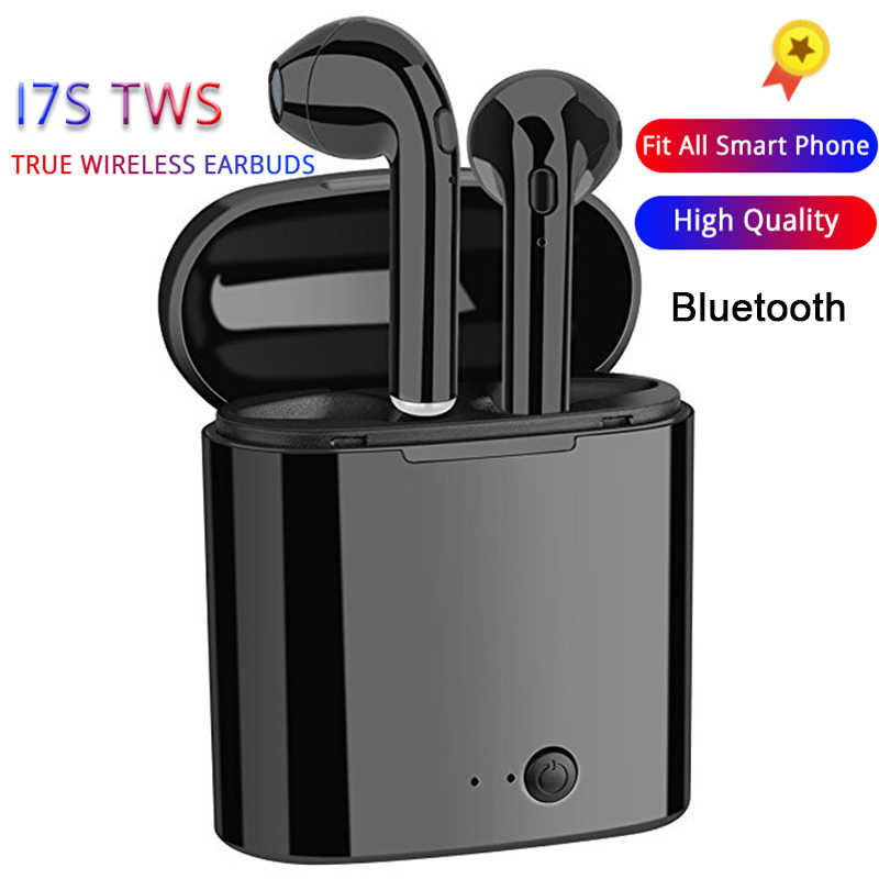 I7s TWS Mini Bluetooth Wireless Earphones Sports Headsets Android Audifonos For All Smart Mobile Phone Earbuds With Charging Box