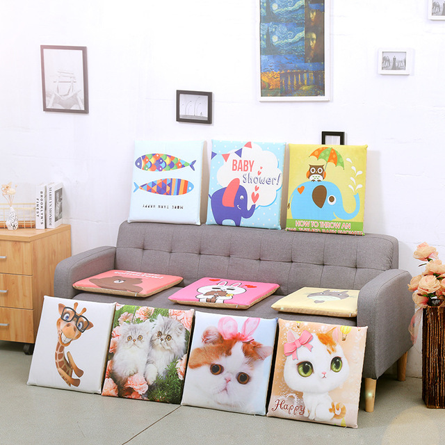 Outdoor Chair Cushions Sale Rubber Feet For Metal Legs Hot Pp Cotton Office Cushion Square Seat 40