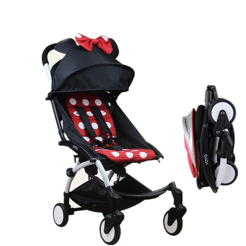Оригинальный Yoya Детские коляски трамвай вагон складные коляски Bebek Arabas Багги легкие коляски Babyzen Йо-йо коляска ...