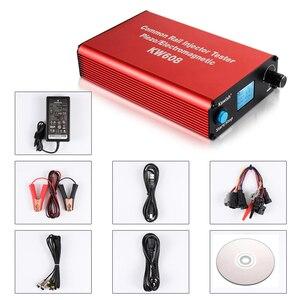 Image 5 - Ücretsiz kargo ve büyük satış! Kw608 çok fonksiyonlu dizel sabit basınçlı püskürtme enjektörü test Piezo enjektör test cihazı Usb enjektör test cihazı