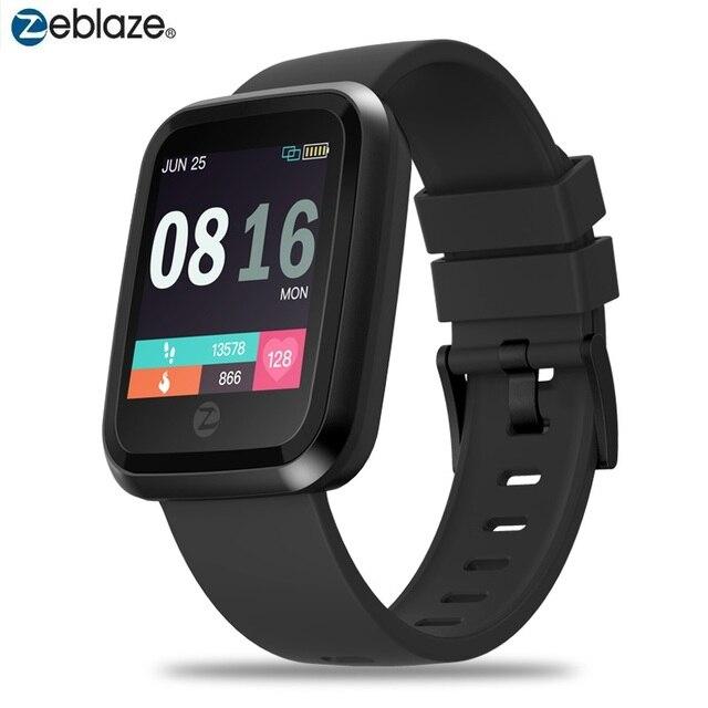 Sport Smartwatch Originale Zeblaze di Cristallo 2 Bluetooth 4.0 Smart Orologio Da Polso Impermeabile Intelligente Wristband Multi lingua Manuale Utente