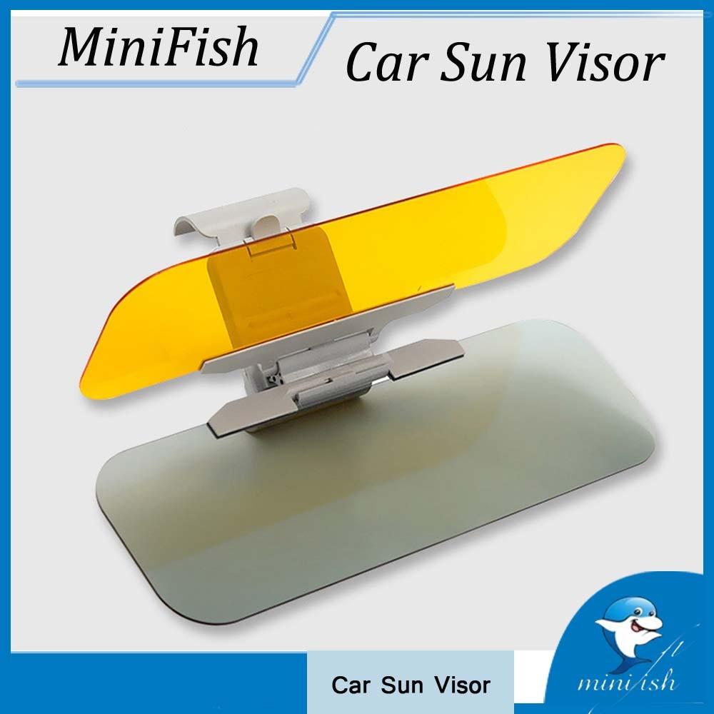 Clip on Car HD Vision Anti Dazzle Glare Blocker Shade Sun Visor Extension N3S2