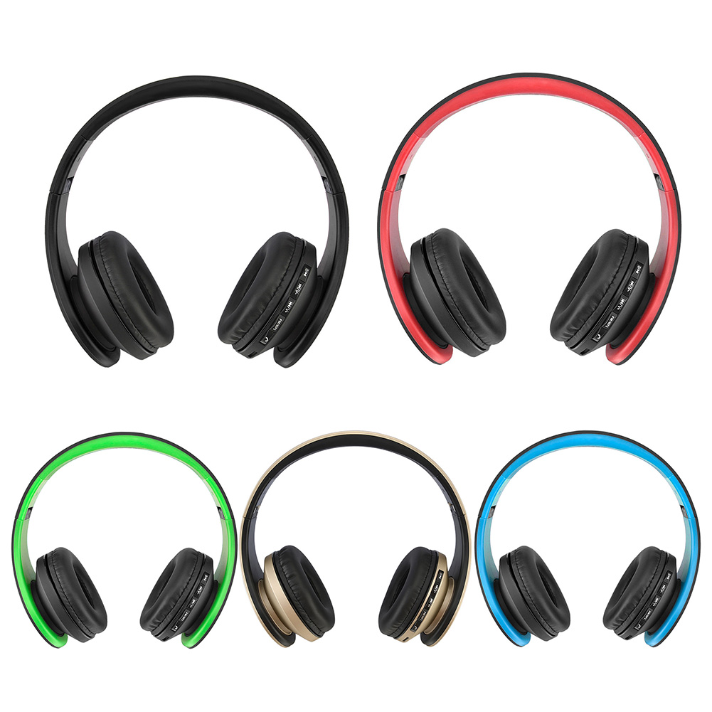 Noise Reduction Wireless Bluetooth Headphone Over-Ear Foldable Headphones with Micphone BT 4.1 Stereo Headset for Smartphones foldable on ear wireless stereo bluetooth headphones headset supports fm