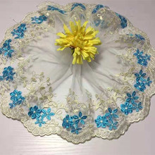 1Yards/Lot High Quality Beautiful Lace Ribbon Tape 18CM Trim DIY Embroidered For Sewing Decoration african lace fabric