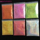 10g 008inch Holographic Nail Art Glitter Dust Powder Ultra-fine Holo Nail Glitter Powder for Nail Art decoration
