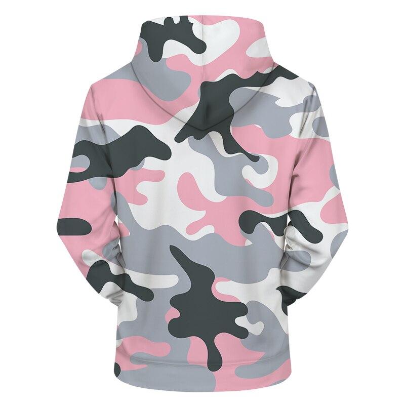60d8615990dc3 Pink Camo 3DPrint Hoodies Men S Clothing Women Sweatshirt Casual Tracksuit  Groot Jacket Hoodie Coat Pullover Dropship ZOOTOPBEAR