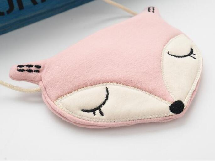 new Lovely Children one shoulder bag coin purse cute fox girls messenger bag baby accessories an ideal gift new
