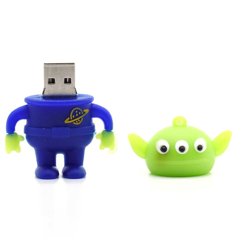 USB flash dyski toy story kosmici-drzewno-4 GB usb2.0 8G 16G 32GB 64GB pen drive pendrive u dysku pendrive pan/pani. potato Head