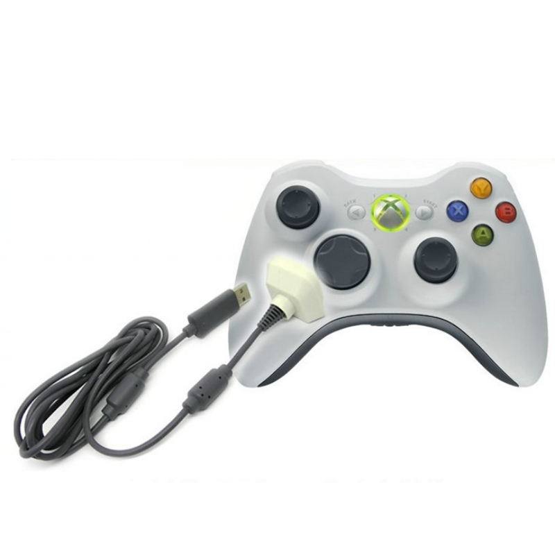 Game Machine Wire New USB Charger Lead Cable for Microsoft Xbox 360 Wireless Gamepad Controller A57
