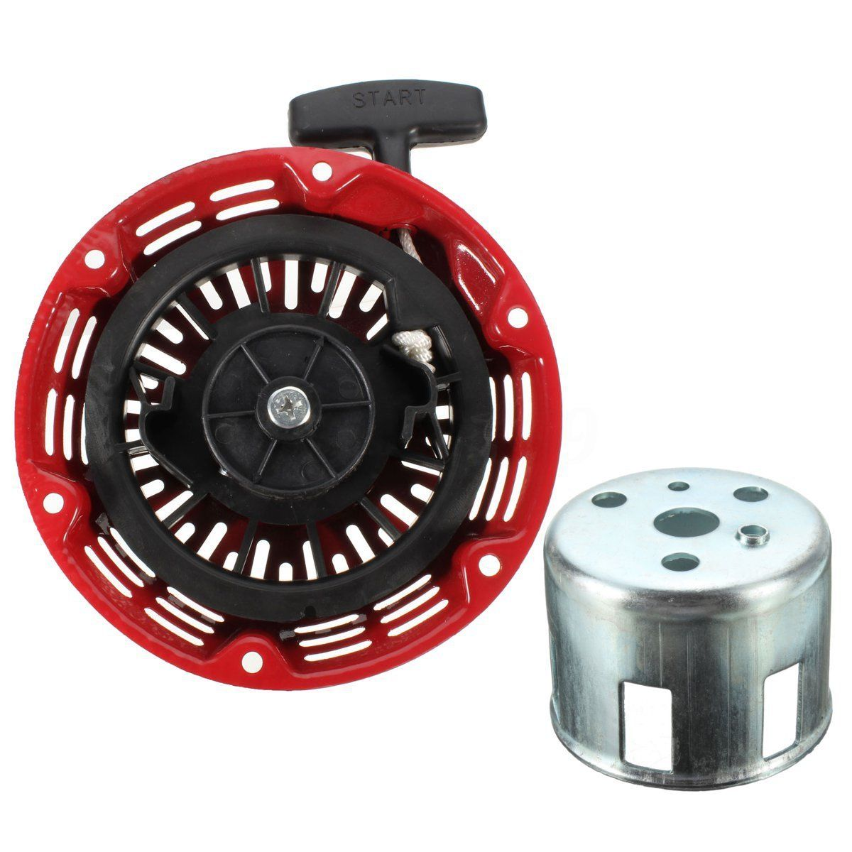 Recoil <font><b>Starter</b></font> Start Repair Part Fits <font><b>Honda</b></font> GX120 <font><b>GX160</b></font> GX200 Chinese 5.5HP Generator Engine Pull <font><b>Starter</b></font> image