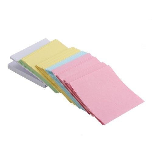 BLEL Hot Memo Note Pad Paper Notepad Gift 500 Pages 5 Colors Stationery конструктор lepin star plan истребитель набу 187 дет 05060