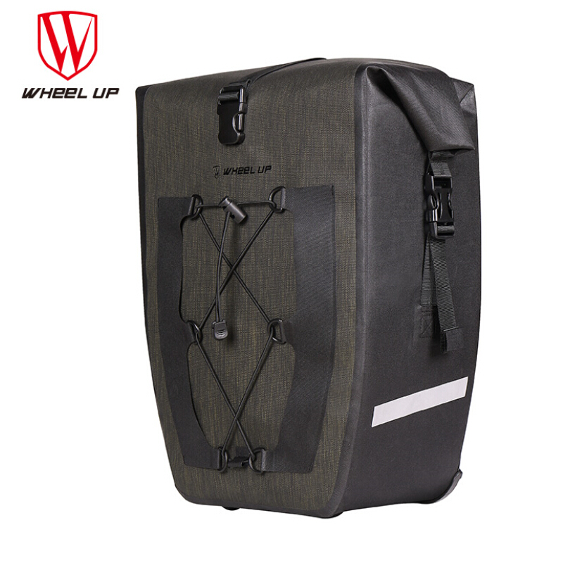 WHEEL UP Waterproof Large Capacity MTB Mountain Road Bike Cycling Rear Rack Seat Bags Bicycle Pannier Bag Cycle Accessories|seat bag bicycle|bicycle panniers|bag bicycle - title=